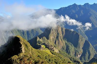 Machu Piccu at sunrise